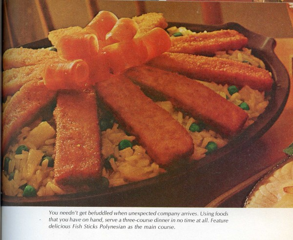 Fish sticks polynesian the mid century menu for Are fish sticks good for you