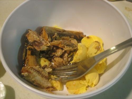 Sardine Rice Eggs 012