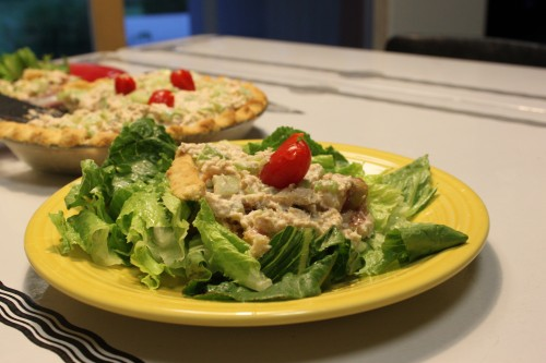 Mid-Century Menu Contest Finalist #1 – Summer Salad Pie