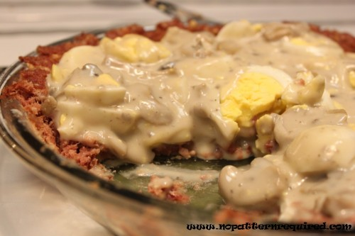 Mid-Century Menu Contest Finalist #3 – Creamed Eggs in Corned Beef Crust