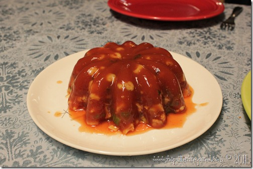 Linda's Tomato Aspic