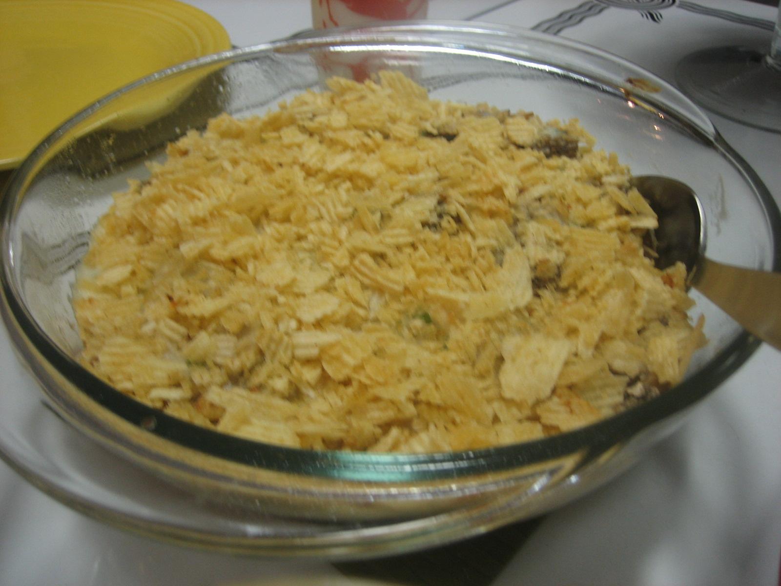 Tuna-Mushroom Scallop