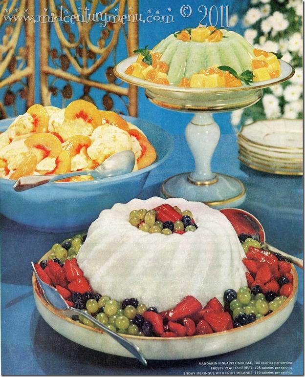 Molded Dessert