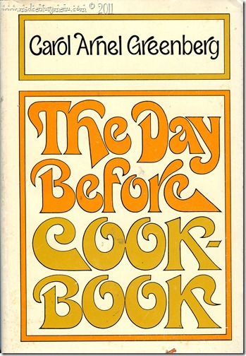 The Day Before Cookbook001