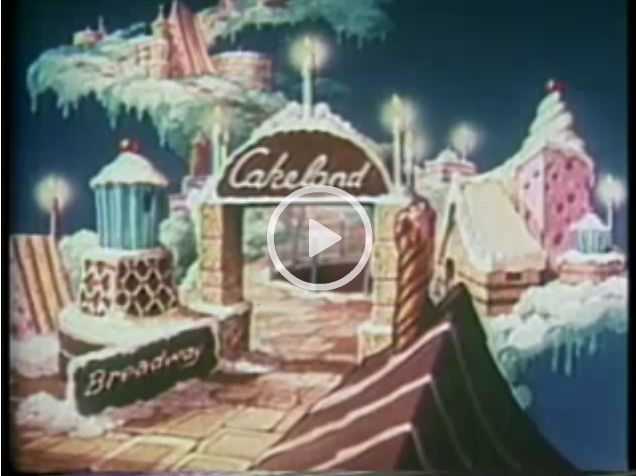 Vintage Video: Little Audrey In Cakeland