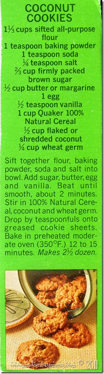 Coconut Cookies001