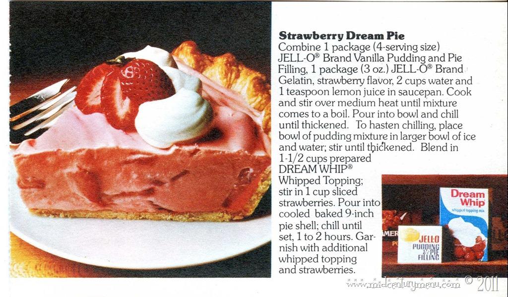 Super-Easy Strawberry Dream Pie