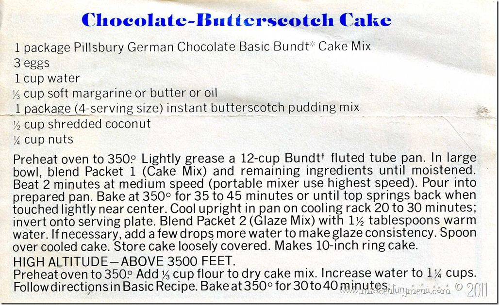 Pilsbury Chocolate Cake Mix002