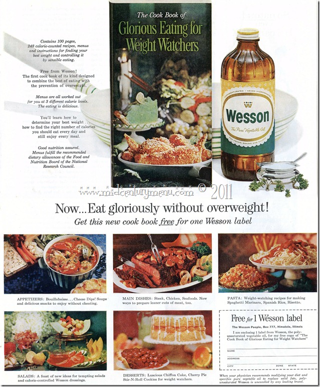 Wesson Oil Weight Watchers