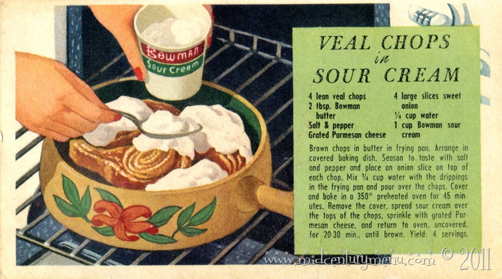 Sour Cream Makes It A Meal