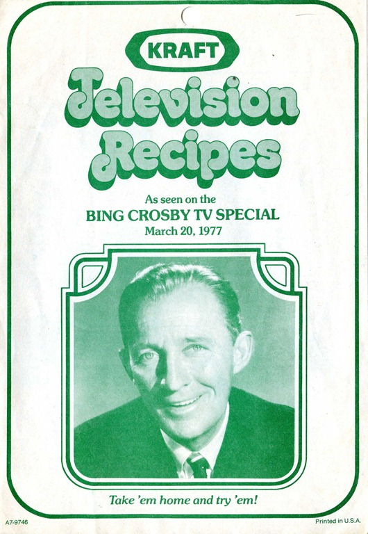 Kraft Television Recipes In The Digital Library