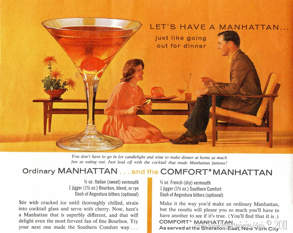 Live To Serve Manhattans