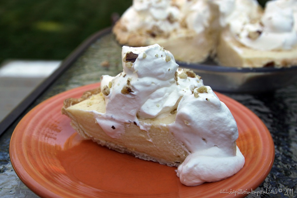 Cider Eggnog Pie – A Mid-Century Recipe Test