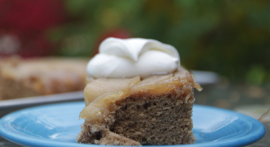 Apple Cider Upside-Down Cake From The Archives–Again!