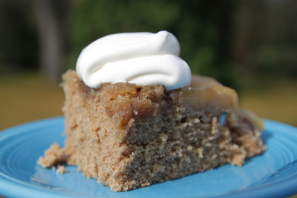 Apple Cider Upside-Down Cake, 1966 – A Mid-Century Recipe Re-Run