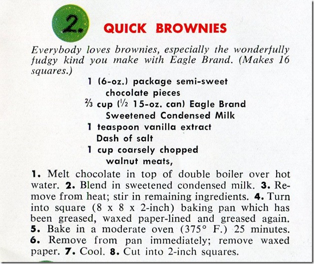 Borden's Eagle Brand 70 Magic Recipes002