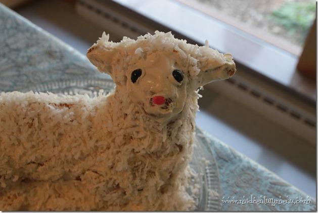 Renalde Lamb Cake