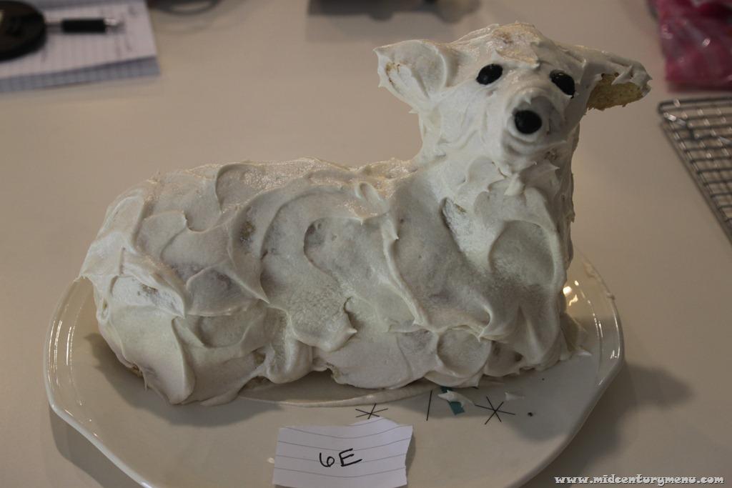 Pope Family Lamb Cake – Eight Days Of Lamb Cakes - The Mid-Century ...