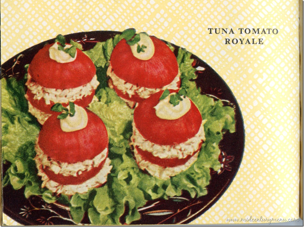 Tuna Tomato Royale – 1954