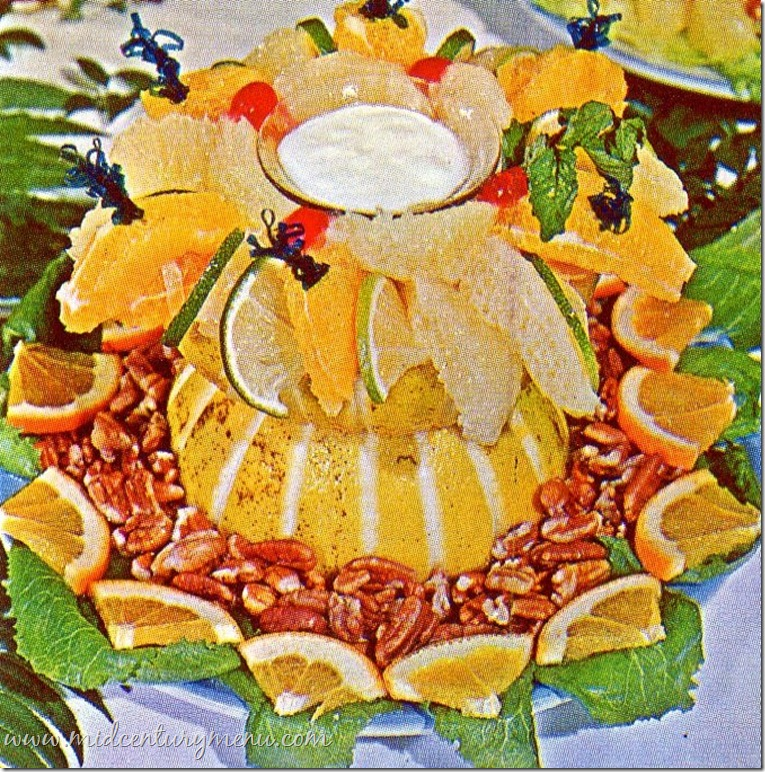 Citrus Salad Artistry From Famous Florida Chefs – 1966