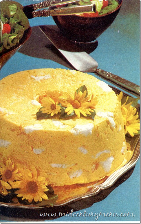 Lemonade Angel Dessert – 1969
