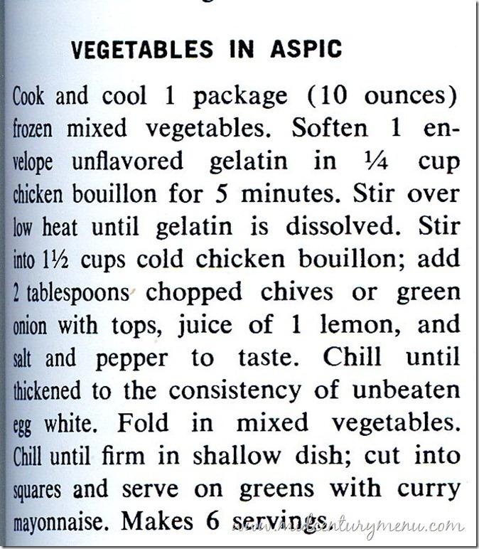 Vegetable Aspic001