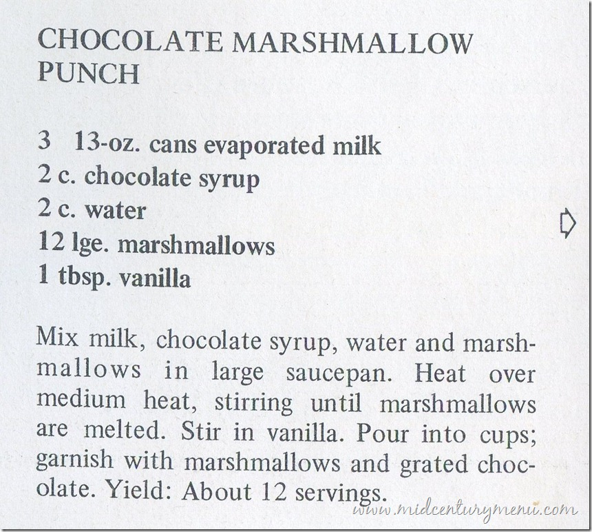 Chocolate Marshmallow Punch001