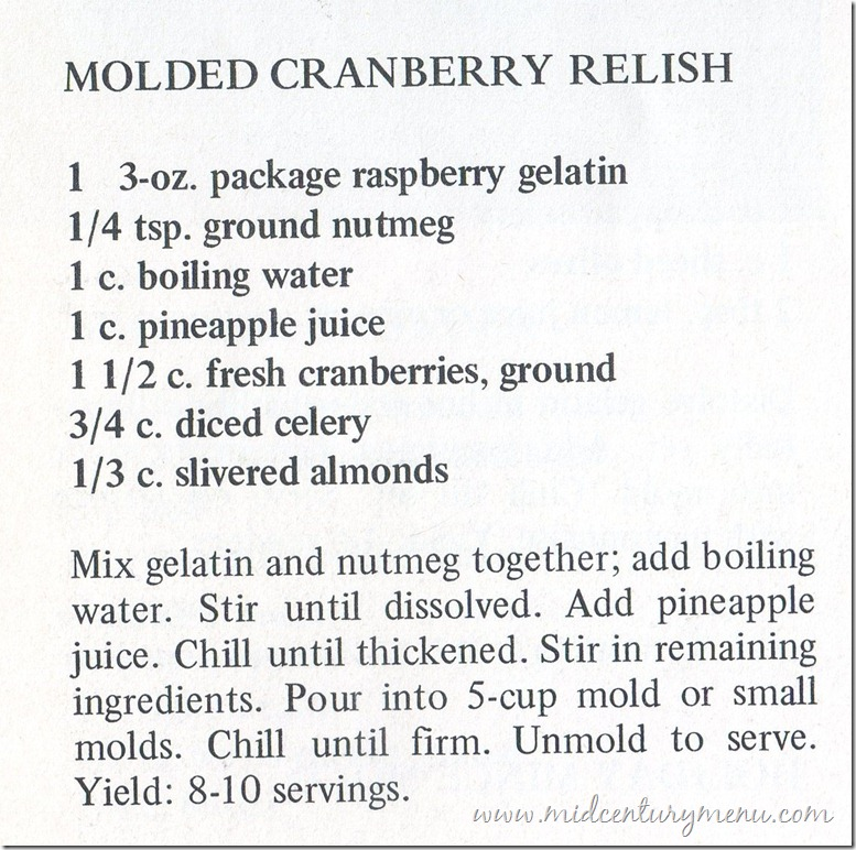 Molded Cranberry Relish001