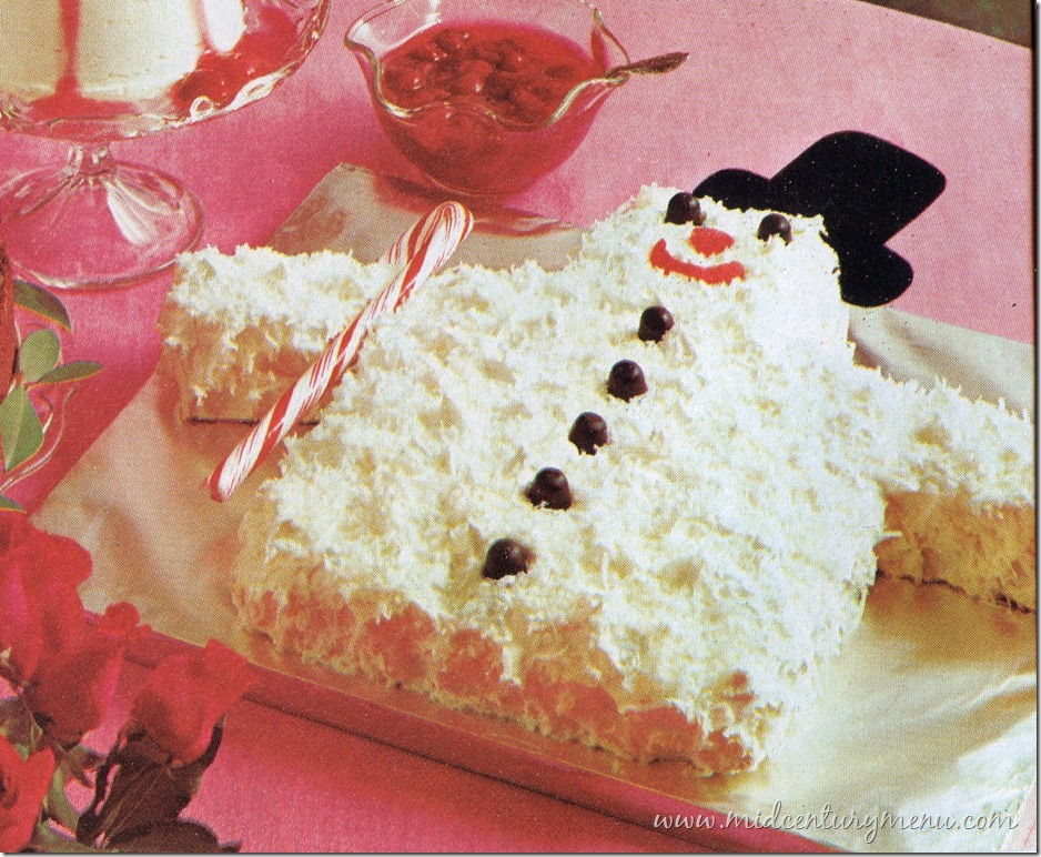 Snowman Cake001