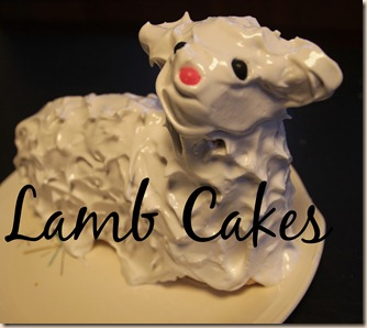 Lamb Cakes