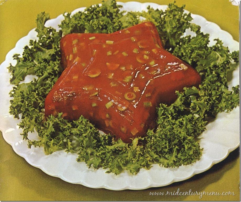Tomato Aspic Mold 1968 The Mid Century Menu