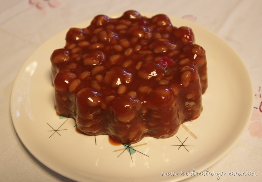 Barbecue Bean Mold – A Mid-Century Recipe Re-Run