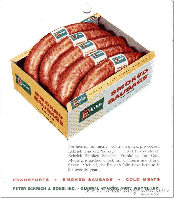 Ekrich Smoked Sausage 1950001
