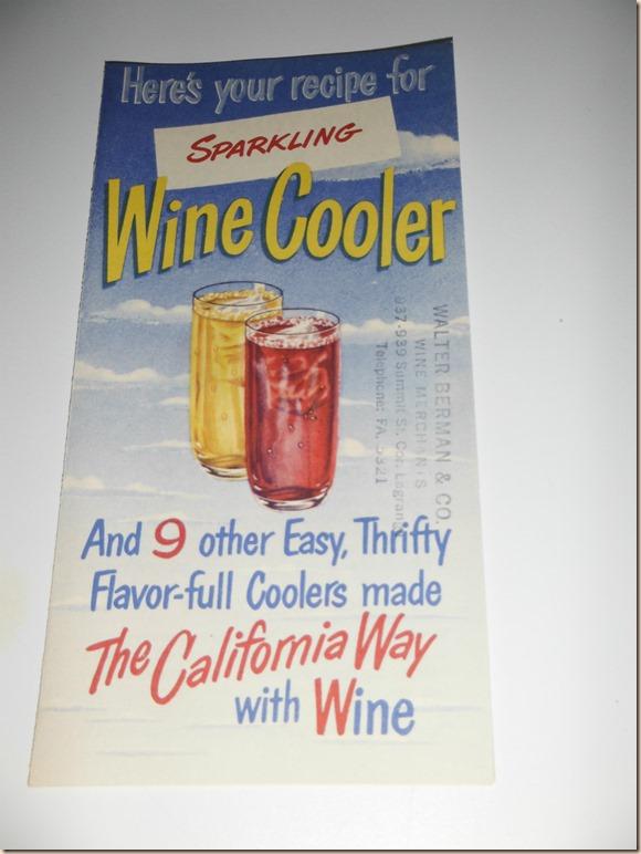 Sparkling Wine Pamphlet