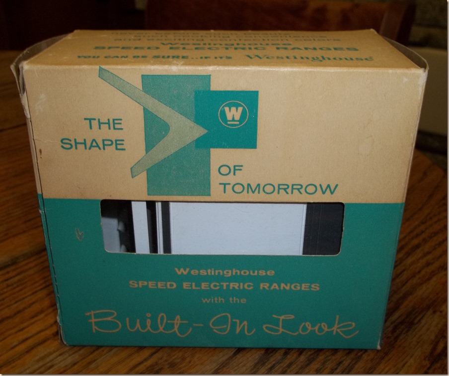 Stove Recipe Box