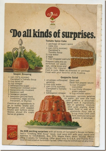 Campbells Soup Cookbook II