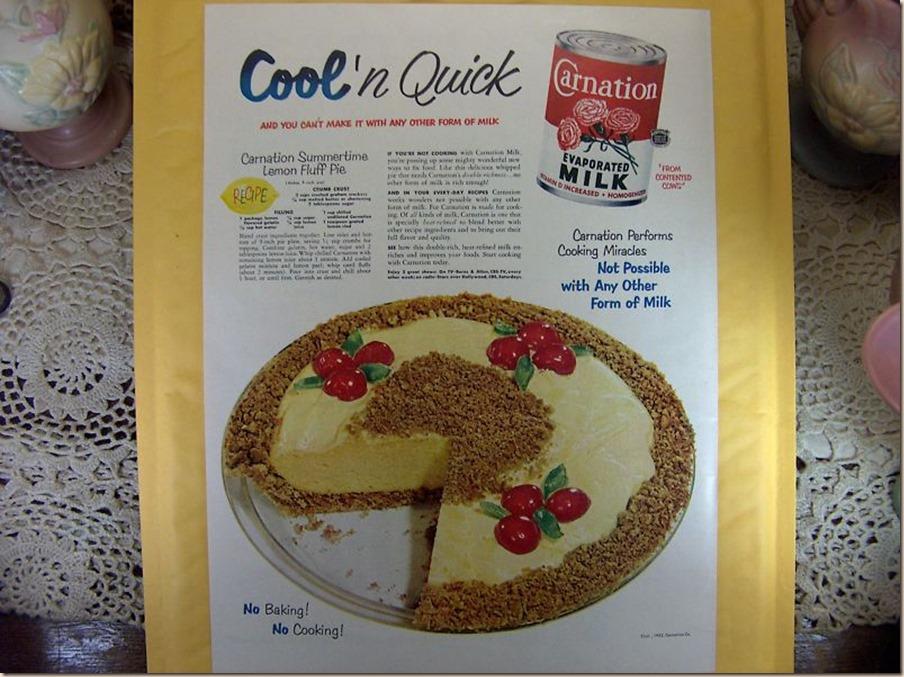 Carnation Milk Pie