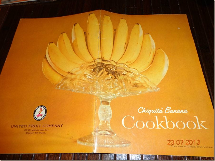 Chiquita Banana Cookbook