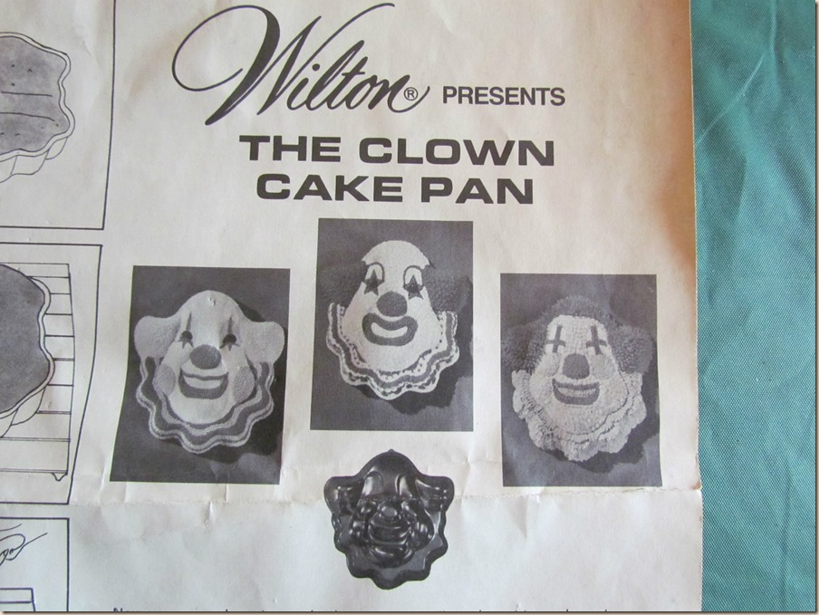 Clown Cake Pan II