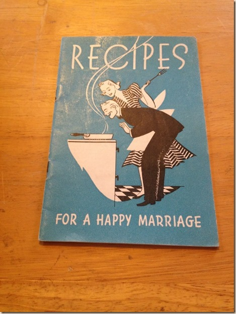 Recipes For A Happy Marriage
