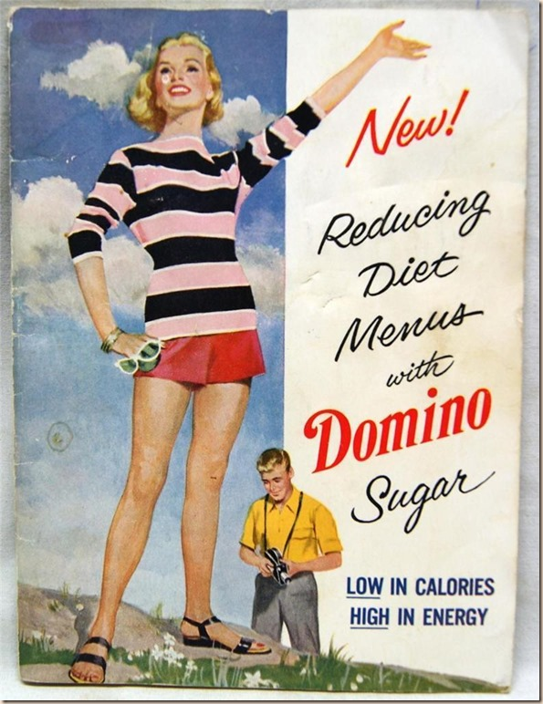Reducing Diet With Domino Sugar