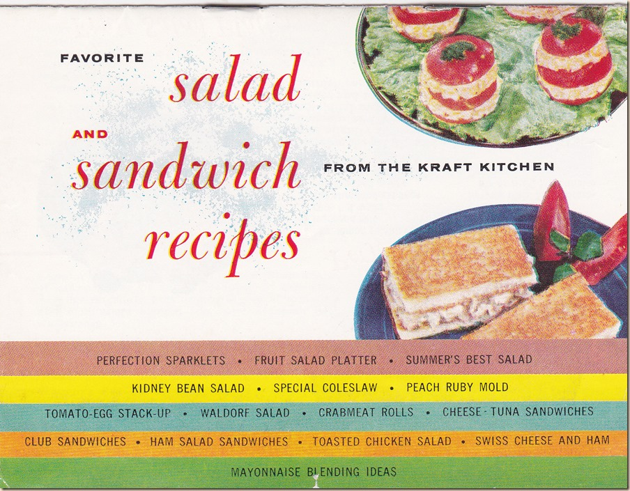 Salads and Sandwiches From the Kraft Kitchen