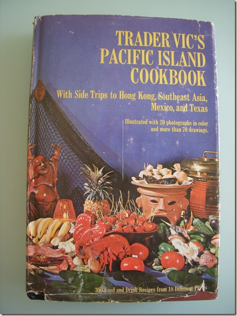 Trader Vics Cookbook