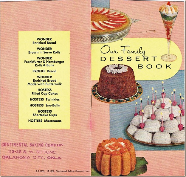 Hostess Cookbook