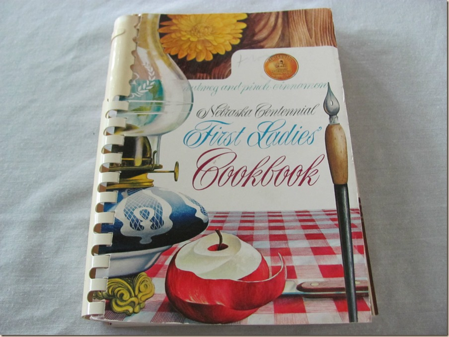 Nebraska First Ladies Cookbook