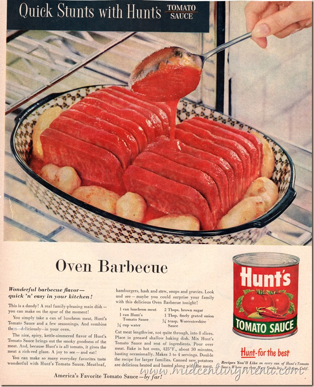 Oven Barbecue June 1956 BHG001