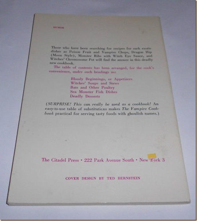 The Vampire Cookbook I