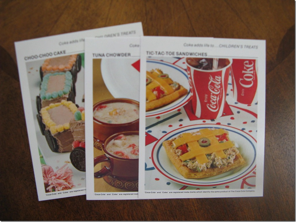 Coke Recipe Cards II