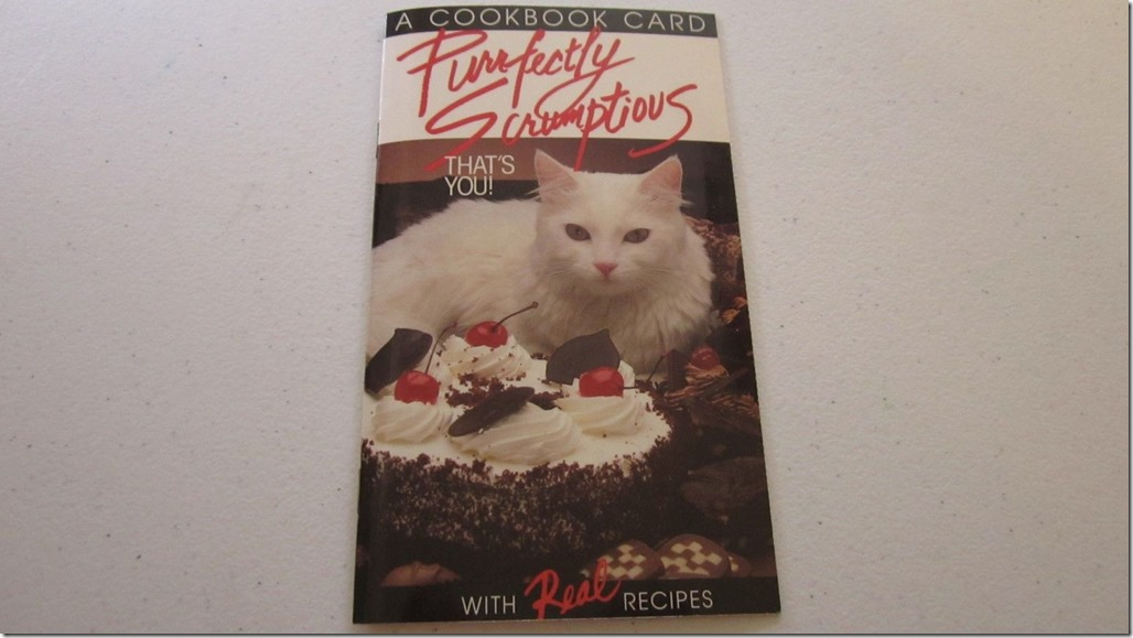Purrfectly Scrumptious