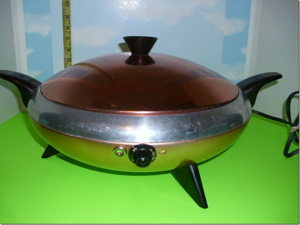 UFO Electric Frying Pan
